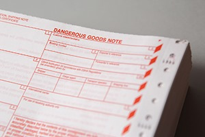 Are dangerous goods notes accurate enough?