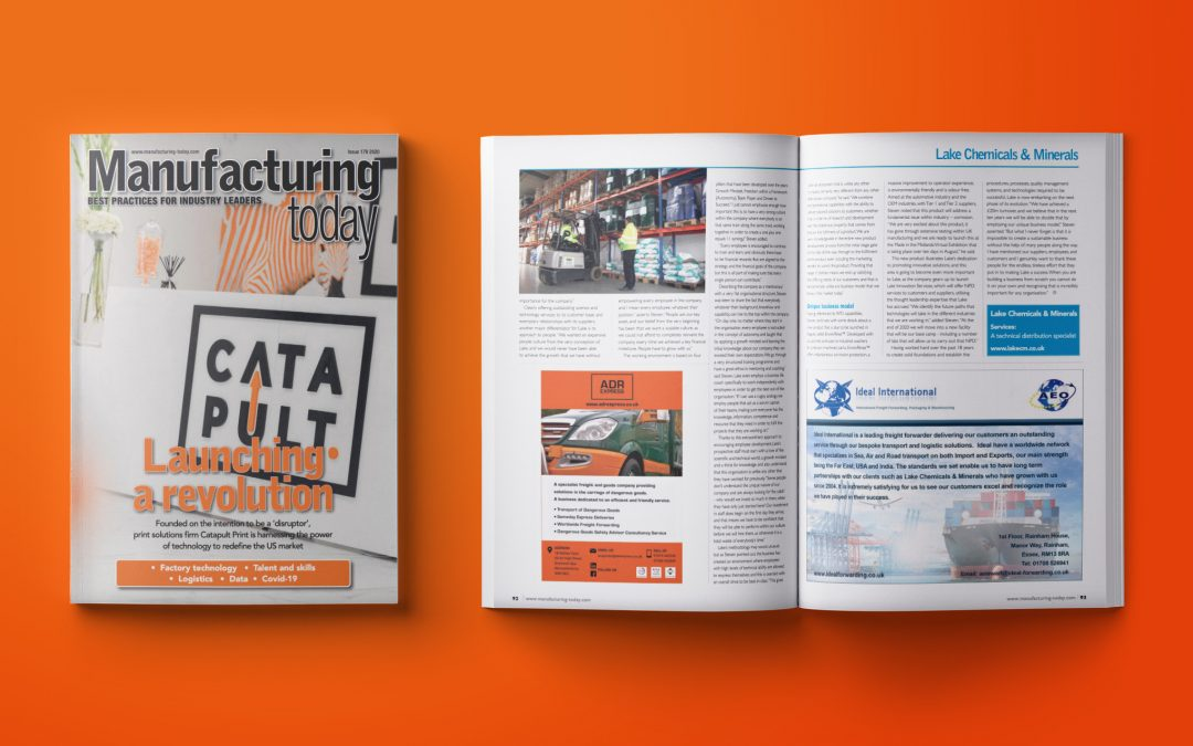 Manufacturing Today Europe Issue 179 August 2020